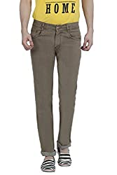 Louppee Jeans Men's Relaxed Jeans (Vkgroup-65_Brown_32)