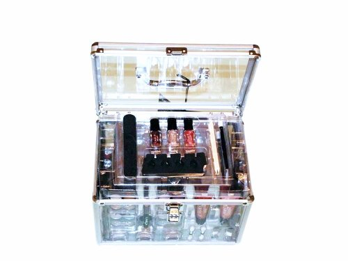 SHANY Carry All Trunk Professional Makeup Kit - EyeshadowPedicuremanicure - Gift Set