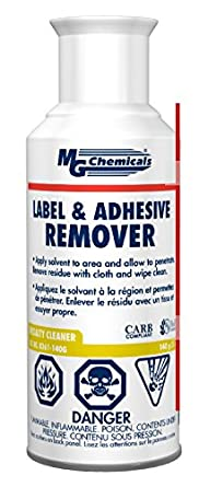 MG Chemicals 8361 Label and Adhesive Remover, 5 oz, Aerosol Can