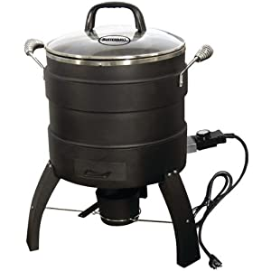 BUTTERBALL Product-BUTTERBALL 20100809 18-lb Capacity Electric Oil-Free Turkey Fryer by Butterball
