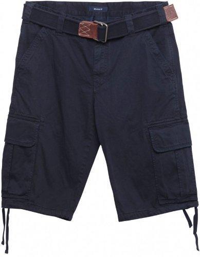 Gant Navy Belted Cargo Shorts