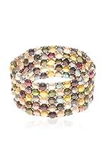Mitzuko Pulsera Rainbow Pearls (Multicolor)