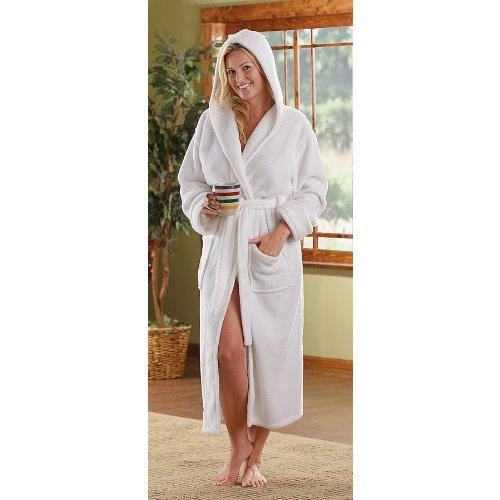 Women's Guide Gear Hooded Fleece Robe