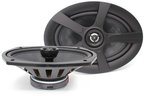 "15-Mc692 Memphis 6"" X 9"" Mclass 120W Coaxial Speakers Mids Crossovers New"