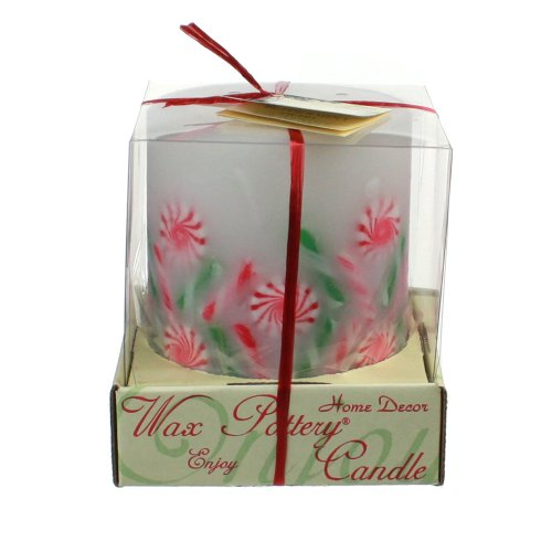 Peppermint Swirl Candle