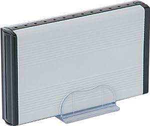玄人志向 3.5型HDDケース SATA接続 超高速USB3.0対応 スノーホワイト GW3.5AI-SU3/SW