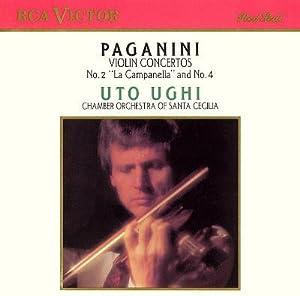 """Paganini: Violin Concerti 2 """"La Campanella"""" & 4"""