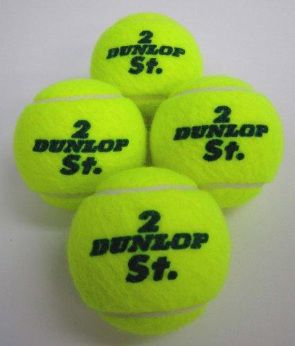 ダンロップ(DUNLOP) ST.JAMES硬式テニスボール 4個入