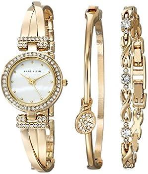 Anne Klein Women's Watch & Bracelet Set