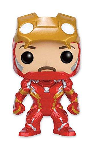 Figura Marvel Captain America Civil War Pop! Vinyl - Iron Man [Unmasked]