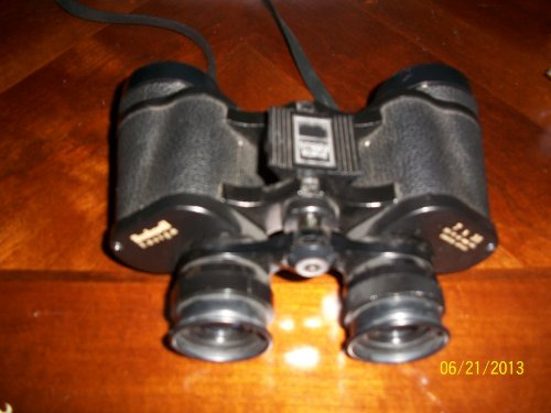 Bushnell Expo Insta Focus Binoculars, Wide View, Neck Strap 7X35