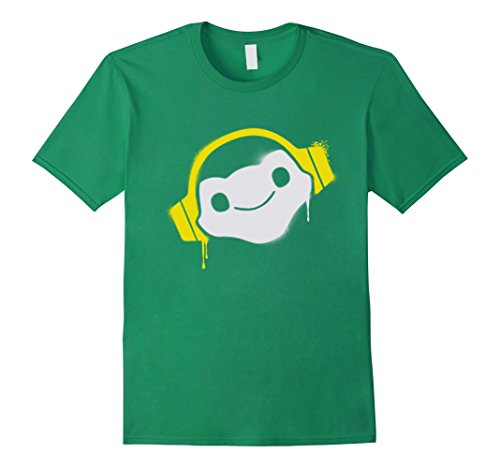 Overwatch Lucio Headphones T-shirt