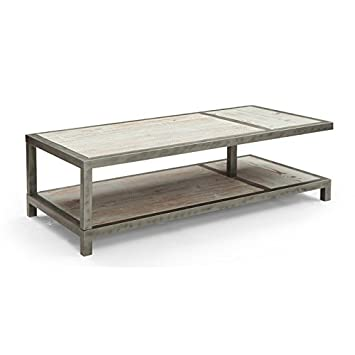Armen Living Maxton Coffee Table, Natural