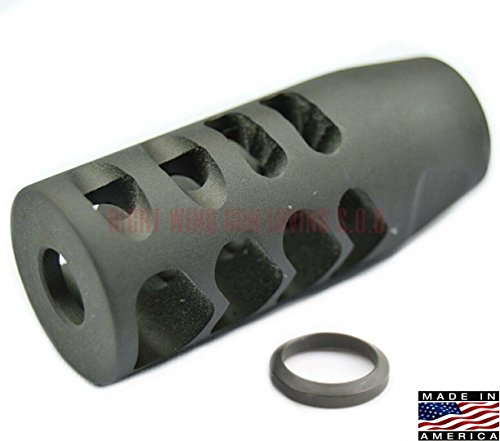 Check Out This Competition Muzzle Brake Heartbreaker 5/8-24 .308 7.62x51 MADE IN AMERICA!