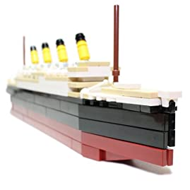 RMS Titanic - LIMITED EDITION Custom LEGO Element Kit