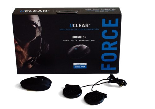 Uclear Hbc220 Force Sports Helmet Communicator Bluetooth Headset