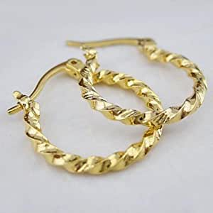 Amazon.com: 18K Gold Plated Earrings: Jewelry