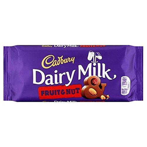 Cadbury Dairy Milk Fruit and Nut Chocolate 120g Bar