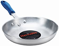 Browne Foodservice 58 13810 8-Gauge Standard Weight Aluminum Fry Pan with Removable Grip, 10-Inch