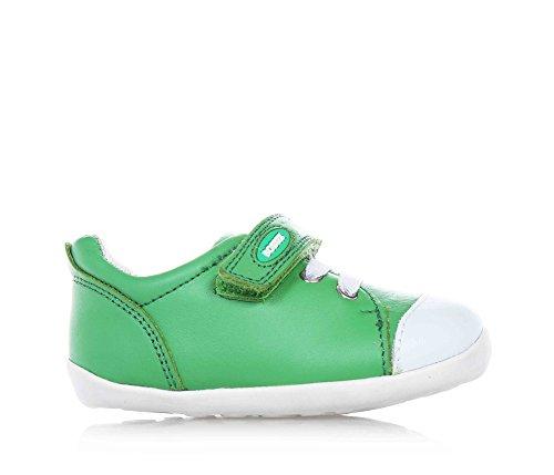 BOBUX-Zapatilla-verde-en-cuero-transpirable-extremadamente-flexible-Beb-Nio