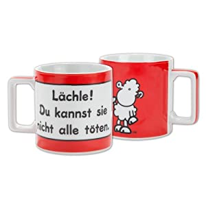 Sheepworld 42031 Tasse groß Wortheld