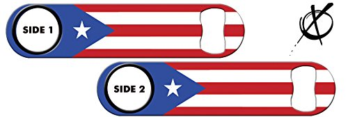 Killer Inked Bottle Opener: Puerto Rico Flag (Puerto Rico Bottle Opener compare prices)