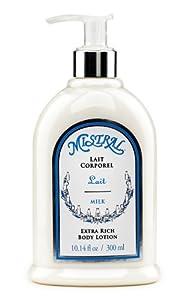 Mistral Body Lotion, Milk, 10.14-Ounce Bottle