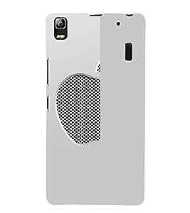 EPICCASE Half Net Apple Mobile Back Case Cover For Lenovo K3 Note (Designer Case)
