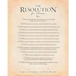 Amazon Com The Resolution For Women Frame Ready Print