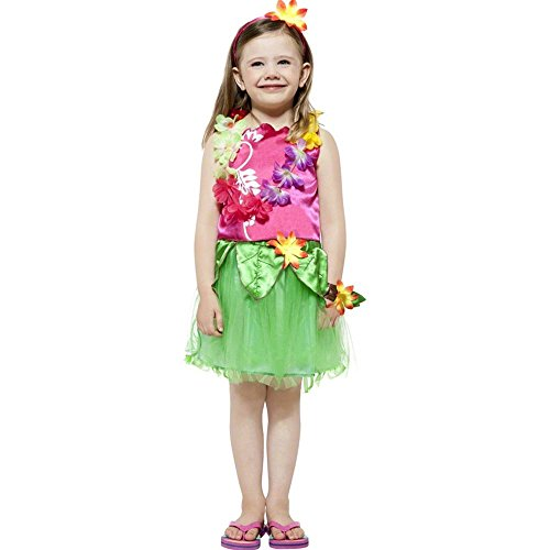 Hula Dancer Girl Kids Costume