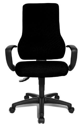 Ismshidero topstar chaise de bureau adulte noire for Bureau adulte