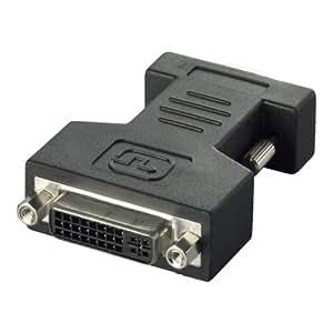 iBUFFALO ディスプレイ変換アダプター HD-D-Sub15pin -DVI-Iメス変換アダプター BSDCDE02