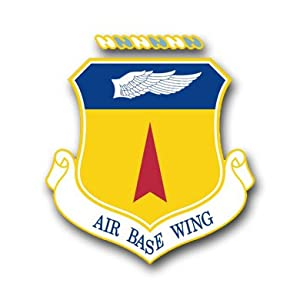"US Air Force 36th Air Base Wing Decal Sticker 3.8"" 6-Pack"