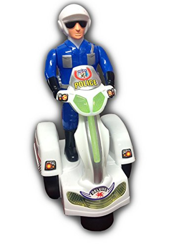 Electric City Police W/ Police Figure Lights & Sirens,Bumps N Go'S All Around