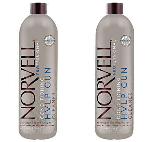 Lot of 2 Norvell Airbrush HVLP Gun Cleaner 16 oz (Spray Tan Gun Cleaner compare prices)