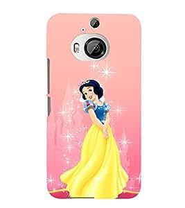 EPICCASE disney princess Mobile Back Case Cover For HTC One M9 Plus (Designer Case)