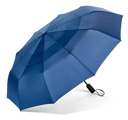 pomelo-best-windproof-folding-umbrella-unisex-automatic-open-and-close-blue