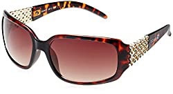 Scavin  Rectangle Sunglasses (Brown) (215S910BRN|59)