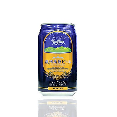 銀河高原 ヴァイツェン350ml(24本入) 銀河高原ビール(岩手)「クラフトビール/地ビール」