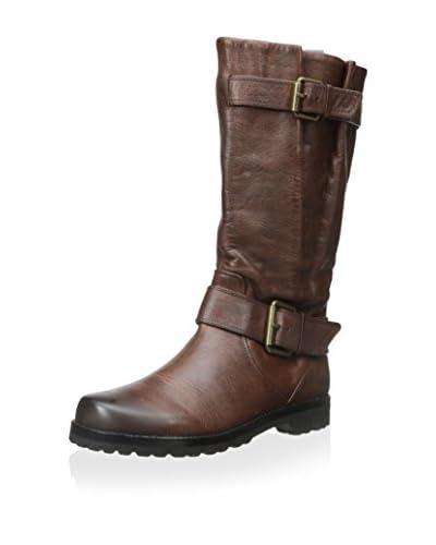 Gentle Souls Women's Buckled Up Boot  [rustic brown]