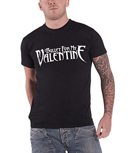 Bullet For My Valentine Classic Logo Official Mens New Black T Shirt