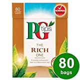 PG Tips The Rich One 80s Pyramid Teabags 80 per pack