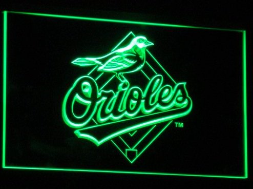 Baltimore Orioles Neon Light Orioles Neon Sign Neon