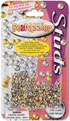 SAS Be Dazzler Stud Refills 200/Pkg Gold & Silver BDZ-STUD; 4 Items/Order