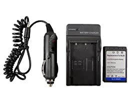 GPK Systems Battery & Charger for Olympus Evolt E-400 E-410 E-420 E-450 E-620; Pen E-p1 E-p2 E-p3 E-pl1 E-pl3 Digital SLR Camera Battery Ps-bls1 Bls-1 Charger Ps-bcs1 Bcs1