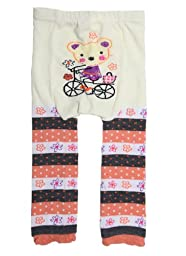 PAPAkids New Kid Toddler Boy Girl Baby Tights Leggings Pants Trousers 6-12 Month Bear