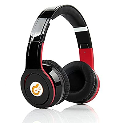 Syllable G08 Wireless Bluetooth Noise Reduction Cancellation Headphones Black