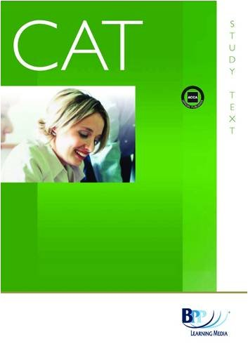 CAT - 7 Planning, Control and Performance Management: Study Text