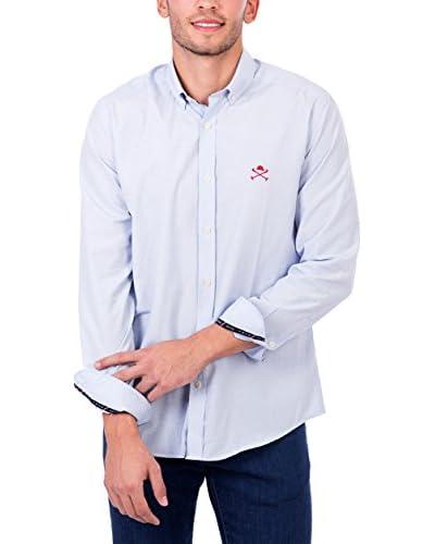 POLO CLUB Camisa Hombre Maverick Academy Azul Celeste