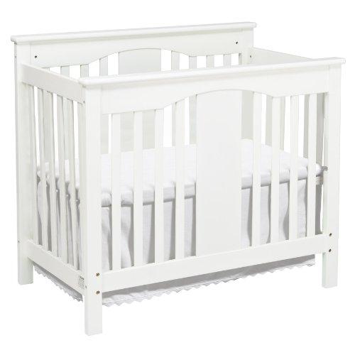 DaVinci Annabelle 2-in-1 Mini Crib and Twin Bed, White